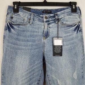 Dear John Jeans - Dear John Havana Distressed Ankle Crop Jeans